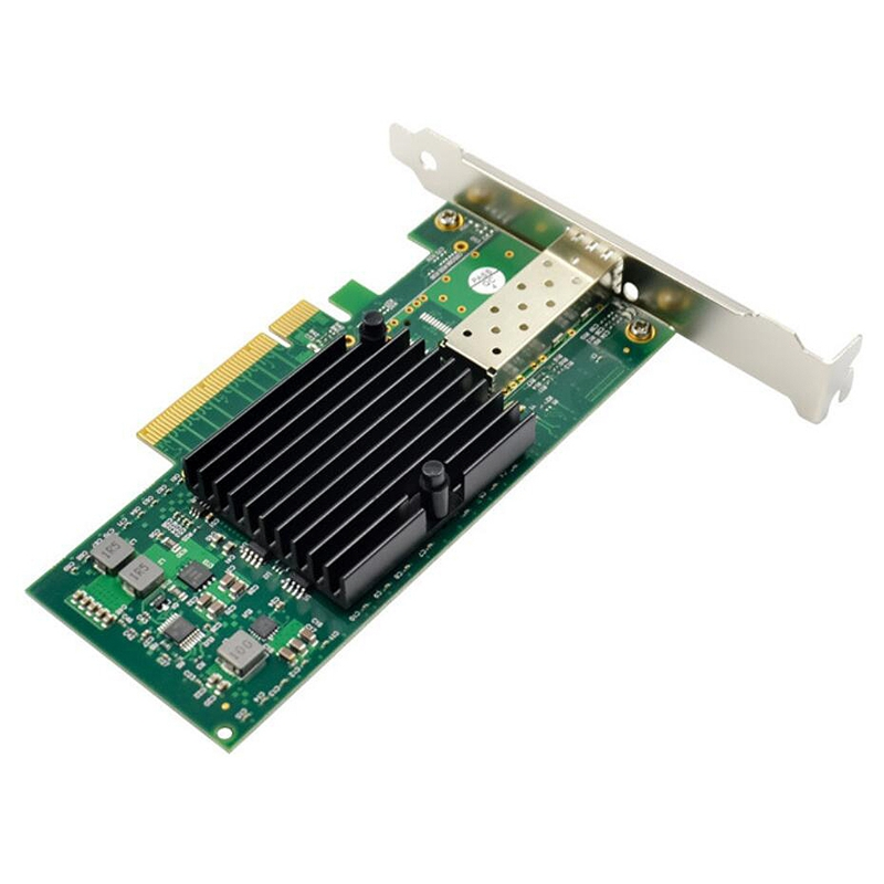 PCI-E X8 10 Gigabit Server Fiber Network Card PCIe 10GbE SFP + Fiber Network Card 82599EN