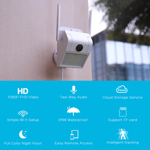 1080P Outdoor WiFi IP Camera W