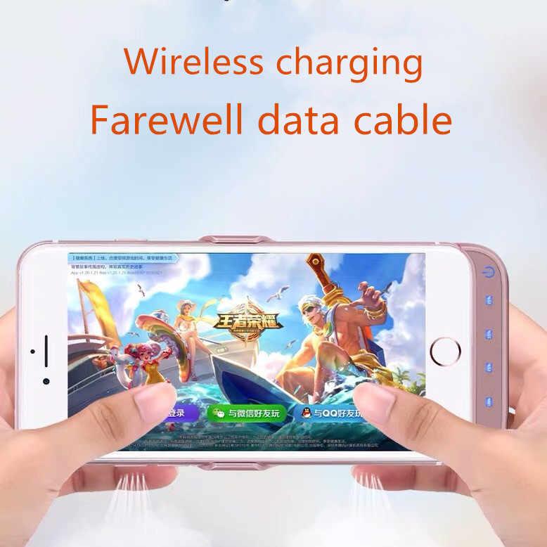 חם 10000mAh סוללה מקרה מטען עבור iphone 6 6s 7 8 בתוספת כוח בנק טעינת מקרה עבור iphone 6 6s 7 8 בתוספת סוללה מקרה