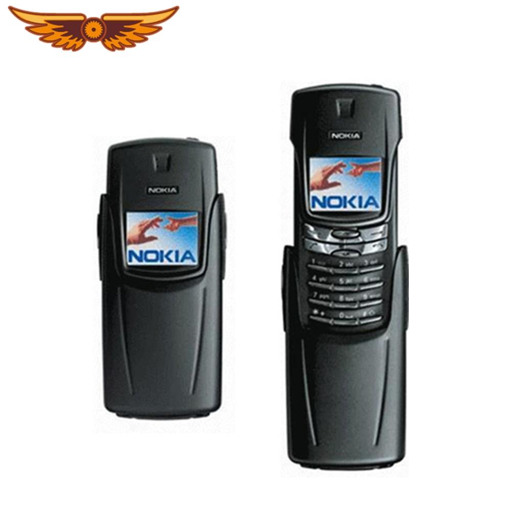 Nokia 8910i Titanium 8910i Dual Band GSM Bluetooth nero telefono cellulare sbloccato originale di buona qualità