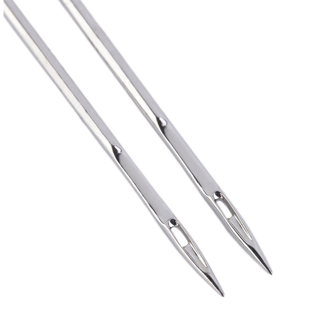 LMDZ 3 tamaño 10 unids/set de agujas dobles y duraderas agujas de doble estiramiento tamaño mixto 2,0/90 3,0/90 4,0/90 con caja