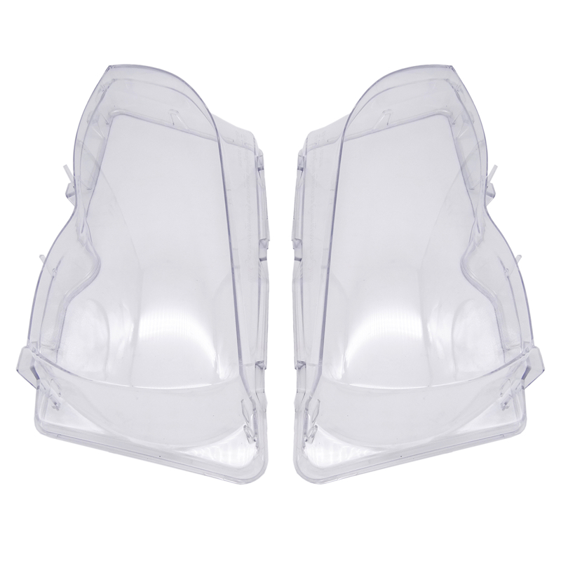 Car Headlight Glass Cover Clear Transparent Automobile Headlamp Head Light Lens Auto Products For BMW E46 3-series 2002-2006