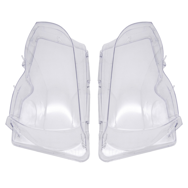 Car Headlight Glass Cover Clear Transparent Automobile Headlamp Head Light Lens Auto Products For BMW E46 3 series 2002 2006