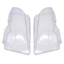 Cubierta de cristal para faros de coche, transparente, faro delantero de automóvil, productos para automóviles para BMW E46 3 series 2002 2006