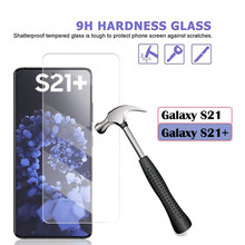Protetor de tela para samsung galaxy s21 s 21 plus vidro smartphone protetor de tela em samsuns21 s21plus + filme temperado