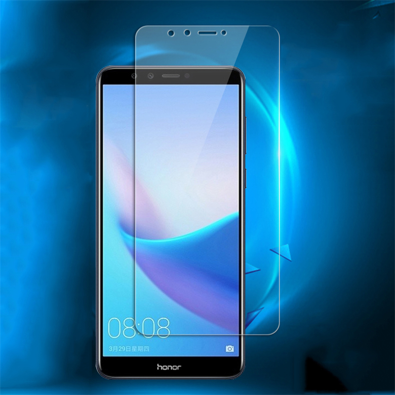 Tempered Glass On The For Huawei Honor 7A 7C Pro 7X 7S Protective Glass For Honor 8A 8C 8X 9i 9N 9X Screen Protector Film Case