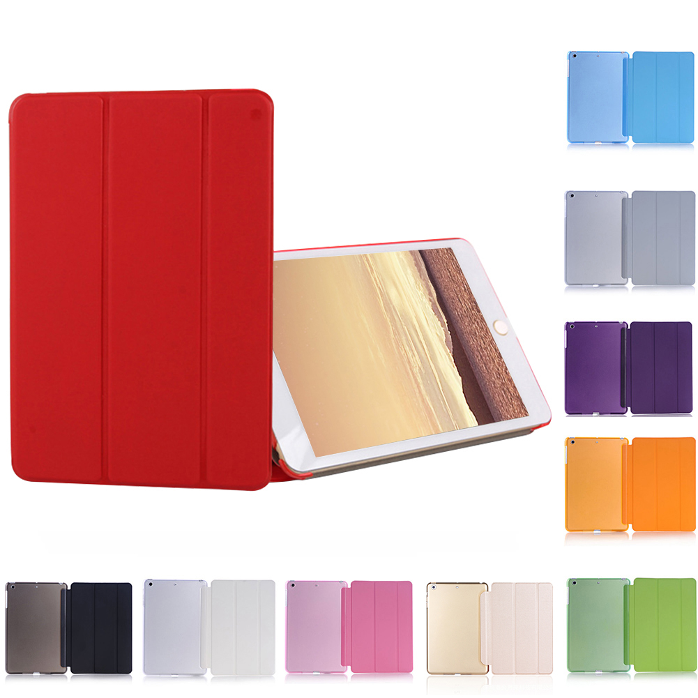 Ultra Slim Magnetic Smart Flip Stand PU Leather Cover Case For Apple I Pad Mini 1 2 3 Retina Intellectual Dormancy Case