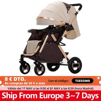 Składany wózek dziecięcy wysokie światło krajobrazu waga przenośny wózek podróżny wózek dziecięcy noworodek dziecięcy wózek nosidło wózek dziecięcy tanie i dobre opinie copsean W wieku 0-6m 7-12m 13-24m 25-36m 4-6y CN (pochodzenie) Numer certyfikatu 25 kg 0-5 Years Old Baby Stroller