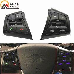Przełącznik tempomatu przycisk wielofunkcyjny przyciski na kierownicy przełącznik tempomatu dla Hyundai ix25 1.6