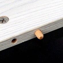 100 шт. D6xL30 D8xL30 D8xL40 D10xL40 шкаф ящик круглый рифленый деревянный деревянное ремесло штифты стержни мебельное оборудование