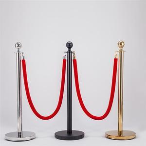 Image 5 - 1.5m noël barrière corde Halloween contrôle des foules corde avec crochets Stanchions hôtel barrières pour la maison Bar Party (sans support)