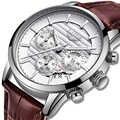 LIGE 2019 nuevo reloj de cuarzo deportivo de moda para hombre, relojes para hombre, reloj de cuero de lujo, resistente al agua, reloj, reloj Masculino