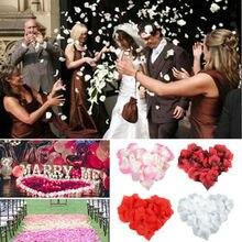 Faroot Новое поступление 300 шт различных цветов шелковые лепестки роз украшения для свадебной вечеринки