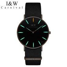 CARNIVAL Brand Watches Men Women Couple Lover's Fashion Ultra Thin Tritium Self Luminous Quartz Wristwatches Reloj Hombre Mujer
