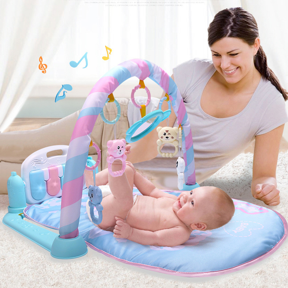 Play Mats Baby Foot Piano Carpet Sports Baby Children Music Game Blanket Puzzle Educational Toy Kids Rug Gym Crawling Activity