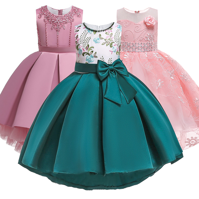 Infant//toddler//baby Blue//Pink Lace Crystals Bow Pageant Glitz Dress G167C