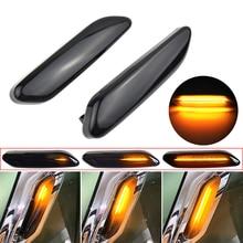 Fließende Wasser Sequentielle Blinker Led Dynamische Seite Marker Blinker Licht Für BMW Für Mini Cooper R60 Countryman R61 Paceman