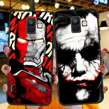 Marvel Venom Iron Man Spider Man Deadpool Soft Case For Samsung A30 A40 A50 A70 A80 A5 A6 A7 A8 A9 A10 A20 J4 J5 J6 J7 J8 Plus(China)