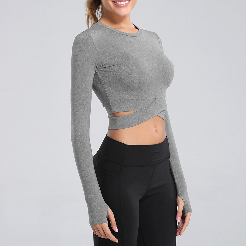 inspire crop top white
