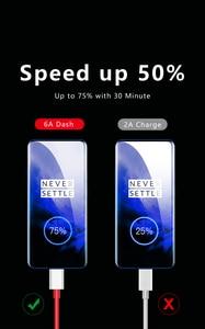 Оригинальный Warp зарядный кабель для Oneplus Nord One Plus Honor 8 Pro 7 7T N100 тире Зарядное устройство кабель Тип USB C провод для быстрого заряда 6A 4A Usbc|Кабели для мобильных телефонов|   | АлиЭкспресс