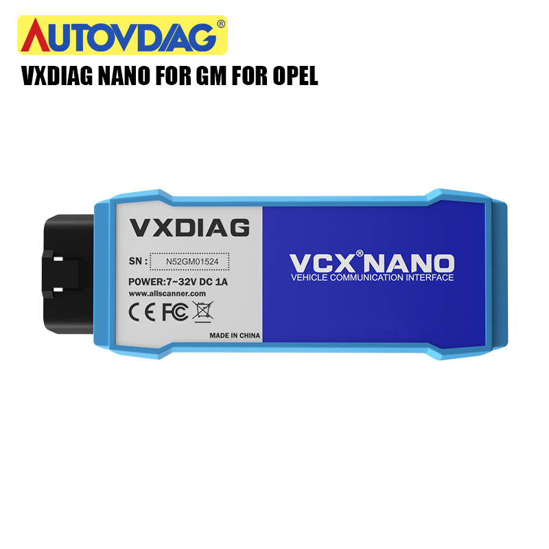 VXDIAG VCX NANO for GM for Opel GDS2 and TIS2WEB Car Diagnostic Tool USB wifi Programming System better than MDI Free Shipping