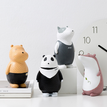 Nordic Cartoon Animal Picks, Children's Room Shelf Decorations, Birthday Gifts, Personal Gifts