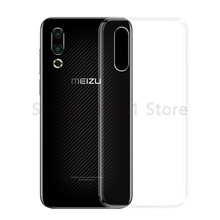 Soft Clear TPU Cases For Meizu 15 16 X Xs 16th Plus 16X 16s 16Xs Pro M6t M6 Note 8 9 V8 X8 Transparent Silicone Phone Cover Case(China)