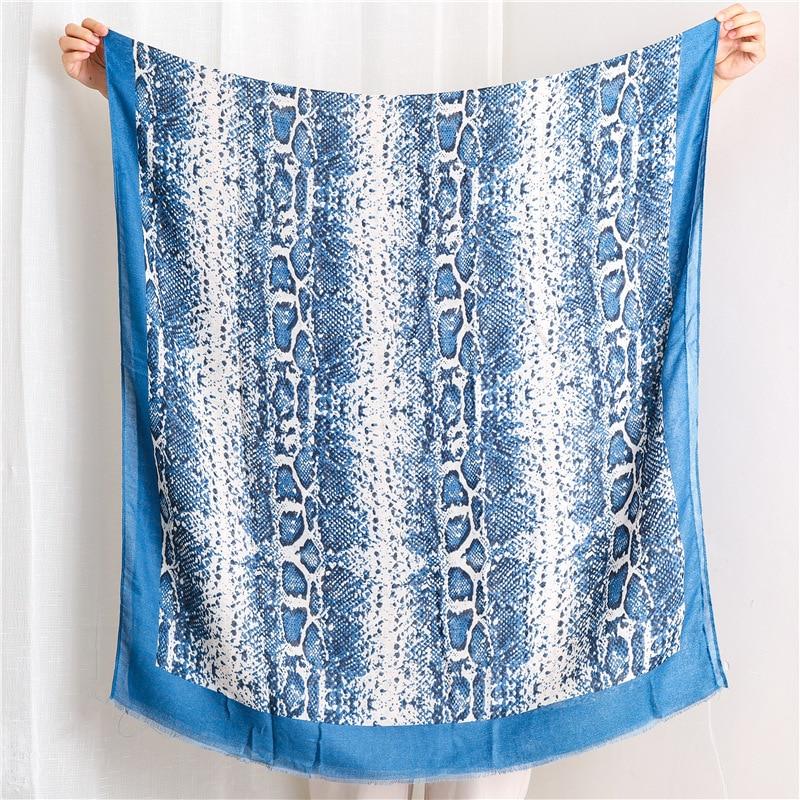 Sjaal Bufandas Invierno Mujer Hijab Scarf Women's Autumn Spain Style Fashion Long Print Scarf Cape Shawl Muffler