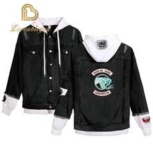 Womens Jacket Denim Clothing Riverdale Jeans SouthSide Serpents Streetwear Tops Spring Hoody Coats