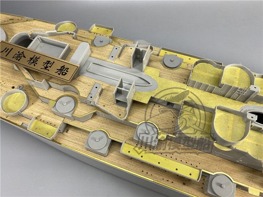 Juego de actualización a escala 1/200 para Trumpeter 03705 USS Misuri Battleship Model Kit - 6