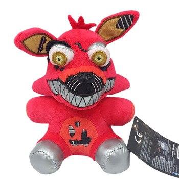 Popular FNAF Five Nights At Freddy's Plush Toys Phantom Foxy Peluche Soft Stuffed Animal Dolls for Children Festival Best Gifts 3