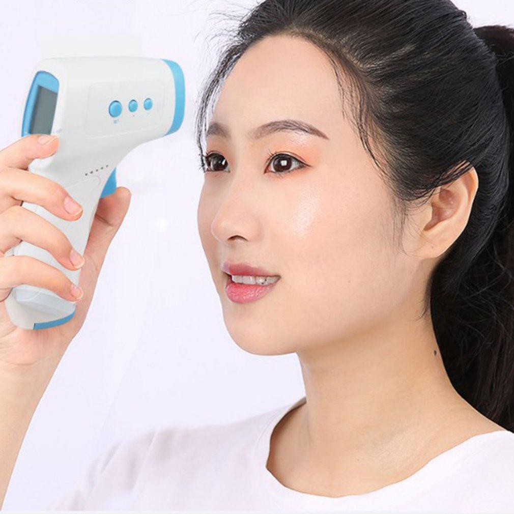 Non-contact Infrared Temperature Sensor, Forehead Thermometer, Smart Sensor, Automatic Body Temperature Read LED Display Digital
