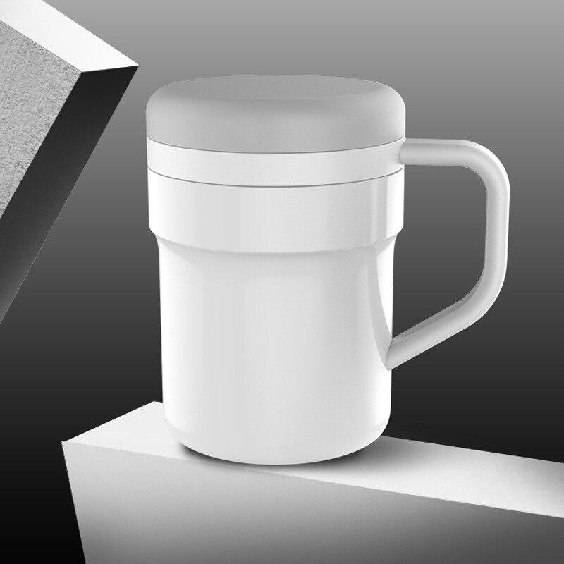 BAISPO кружка из нержавеющей стали с автоматическим перемешиванием, Термокружка с магнитным нагревом, чашка для смешивания кофе, молока, батарея не требуется - 6