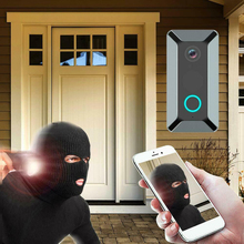 цена на Smart Wireless Doorbell Video Camera Home Security Doorphone V5 WiFi Remote Video Door Bell Phone Intercom Bell
