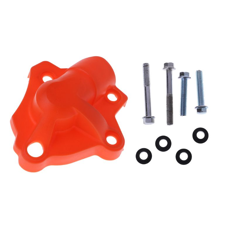 Hot New 1 Set Motorcycle Water Pump Cover Protector Case Accessories Fit For <font><b>KTM</b></font> 250 <font><b>350</b></font> SXF EXCF XC-F XCF-W <font><b>2013</b></font> 2014 2015 2016 image