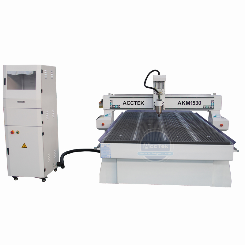 Hiwin Linear Square Guide Rails Cnc Wood Router Machine With Mach3 Controller/DSP