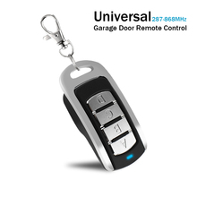 Gate Control for 287   868 MHz Garage Door Remote Control Duplicator 433.92MHz 868.3MHz Gate Door Opener For Fixed Rolling Code