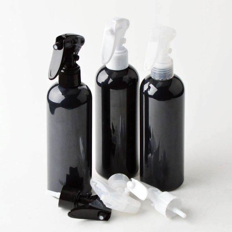 100 мл, 120 мл, 150 мл, черная бутылка с пусковым распылителем, многоразовая емкость с распылителем для очистки моющего средства 10 шт./лот P219