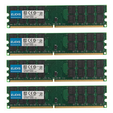 16GB 4pcs 4GB PC2-6400 DDR2-800MHZ 240pin AMD Desktop Memory Ram 1.8V SDRAM only for AMD not for INTEL System
