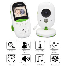 Baby Monitor Wireless Security Camera, WiFi Home Surveillance IP Camera for Baby/Elder/ Pet/Nanny Monitor Camera, Two-Way Audio(China)