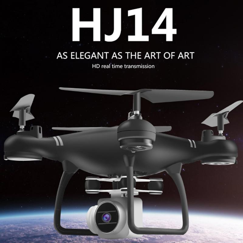 <font><b>HJ14W</b></font> Camera Drones Wifi FPV HD Camera 1080P RC Drone Foldable Quadcopter Helicopter Double Extra Battery Free Shipping VS XY4 image