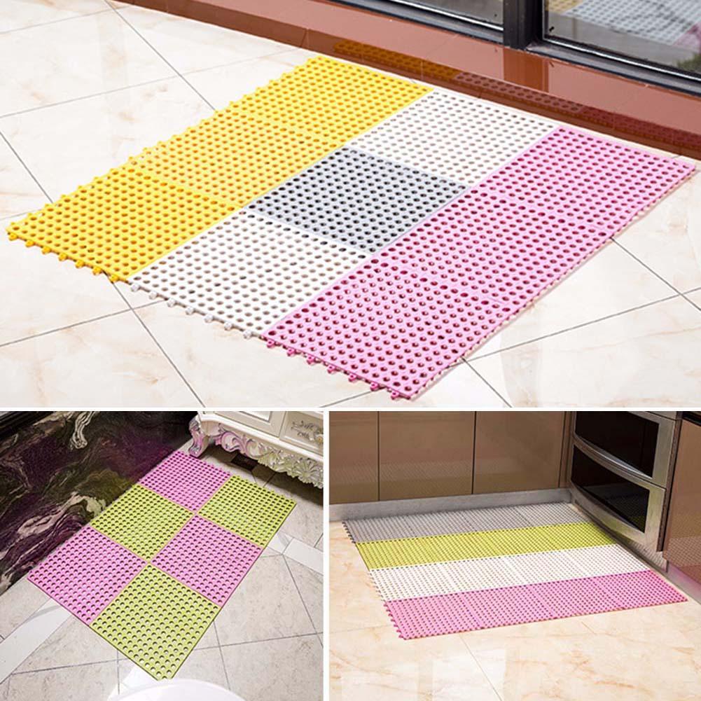 new fashion Non-Slip Thicken  Toilet Splicing Mat Floor Cover Cushion Bathroom Home Decor Easy to Clean