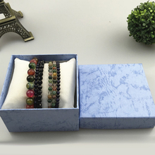 Jewelry Storage Cases Bamboo Necklace Earrings Case Jewelry Boxes Holder Gift 6 Colors Jewelry Box Gift