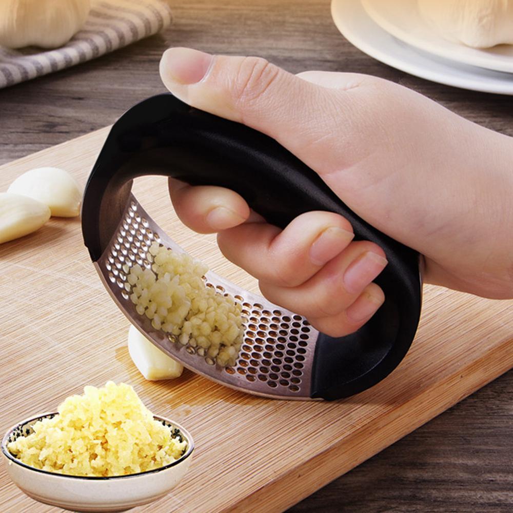 1Pc Garlic Press Chopper Ginger Mincer Hand Presser Crusher Grinder Kitchen Tool