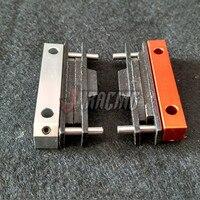 Usinagem de precisão CNC conjunto do bloco de freio para HPI BAJA ROVAN KM ROFUN 5B 5T 5SC