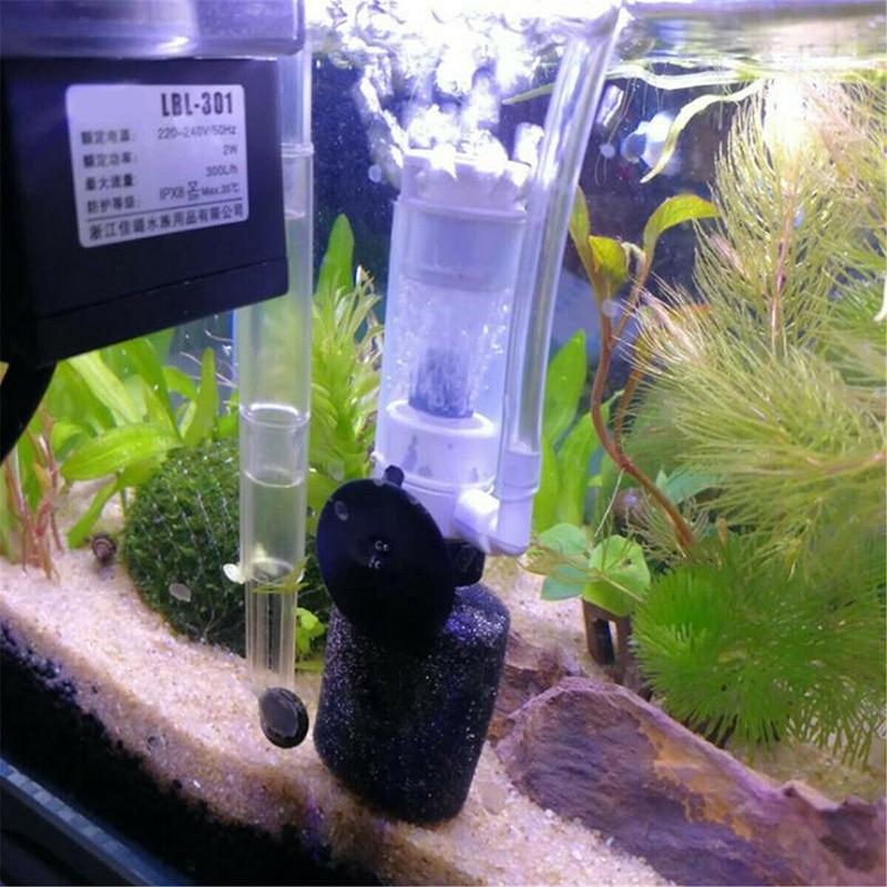 Aquarium Filter Fish Tank Super Mute Small Pneumatic Filter Purification Tool For Fish Tank SNO88