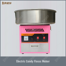 OT62 Electric Candy Floss Machine Heavy Duty 220V Cotton Candy Floss Maker Commercial цена