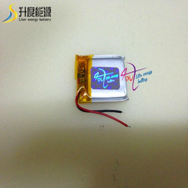 SD402025 140MAH  good quality 140 mah thin flat small polymer battery cell li-polymer  402025