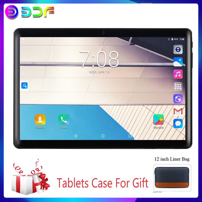 10.1 Inch Tablets 3G Phone Call System 7.0 Quad Core 32GB ROM Bluetooth 4.0 Wi-Fi 2.5D Steel Screen Tablet PC+Keyboard