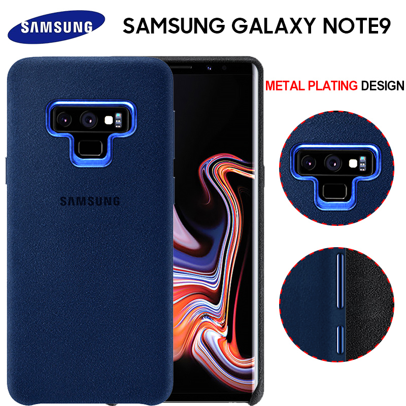 Samsung Note 9 Case Luxury Original Genuine Suede Leather Fitted Protector Case Samsung Galaxy Note 9 Case Galaxy Note9 Cover